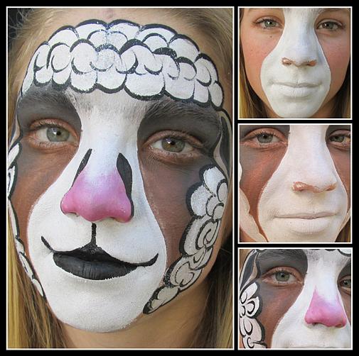 Sheep Face Paint